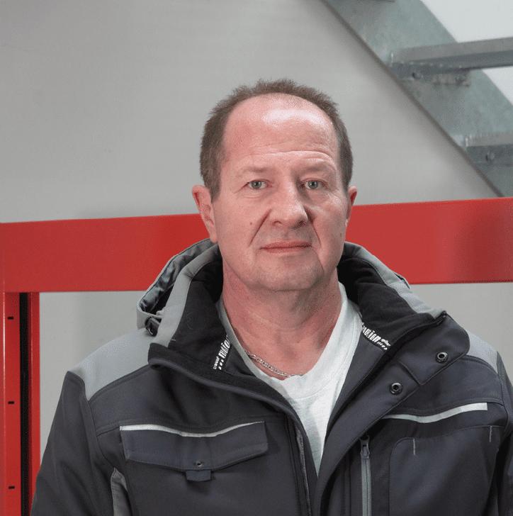 Artur Diehl bei Schaefers Gitterroste