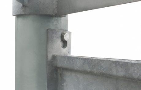 Befestigung Gitteroste und Spindeltreppen